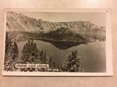 Crater Lake Oregon Vintage Postcard
