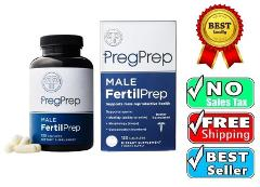 Male FertilPrep Fertility Aid for Men Supports Male Reproducti...