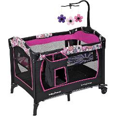 Infant Baby Portable Bassinet Sleeper Playpen Combo Foldable P...