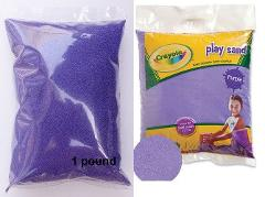 Crayola Purple Play Sand 1 Pound Bag Table, Box, Arts & Crafts...