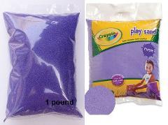 Crayola Purple Play Sand 1 Pound Bag Table, Box, Arts & Crafts...