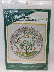 Elsa Williams Crewel and Cross Stitch | RARE Tree of Life #002...