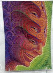 Alex Grey Tool Artist Shpongled Blotter Art Limited Edition Si...