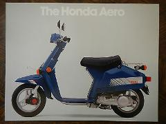 83 HONDA NB50 AERO 50 NOS OEM DEALER'S SALES SHEET BROCHURE NB