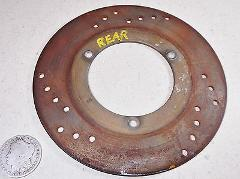 86 KTM 350 MXC REAR BRAKE DISK DISC ROTOR 3.45mm