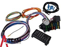 A-Team Performance 12 CIRCUIT UNIVERSAL WIRE HARNESS MUSCLE CA...