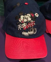 Disney Parks Mickey and Minnie Mouse XOXO Cap Hat New with Tag