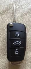 AUDI A6 A4 TT 3 BUTTON REMOTE KEY FOB CASE & BLANK BLADE for R...
