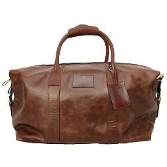 Quagga Genuine Leather Duffle - Choose One/Color-(Brown color ...