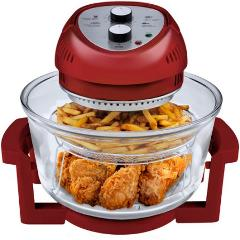 Big Boss Red Extra Large Oil Free Oil Less No Grease Air Fryer...