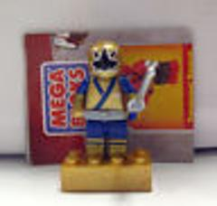 Mega Bloks Power Rangers Samurai Series 1 Metallic Samurai Gol...