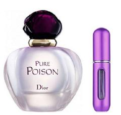 REFILLABLE PERFUME TRAVEL SPRAY WITH FREE 5ML CHRISTIAN DIOR P...