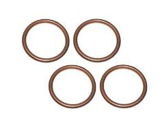 Set Of 4 Honda New K&L Exhaust Pipe Muffler Header Gasket 0133...