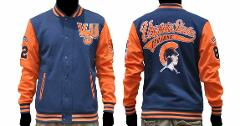Virginia State University Jacket HBCU College Varsity Letterma...