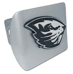 Oregon State University Brushed Hitch Cover