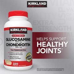 Kirkland Signature Glucosamine & Chondroitin Glucosamine & Joi...