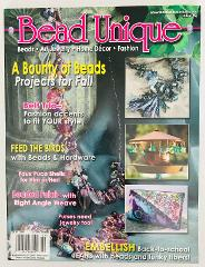 Bead Unique Magazine #2 Fall 2004 Art Jewelry Home Decor Fashi...