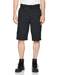Dickies Mens 13 Inch Relaxed Fit Flex Multi-Pocket Short, Blac...