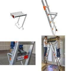 Little Giant Ladder Systems 10104 375-Pound Rated Work Platfor...