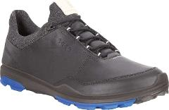 ECCO BIOM Hybrid 3 Tie GORE-TEX Golf Shoes - Men's - Black Lea...