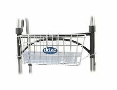 Drive Medical Walker Basket, White