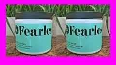 2 Beauty & Pin-ups FEARLESS Hair Rescue Masque Mask Dry Damage...