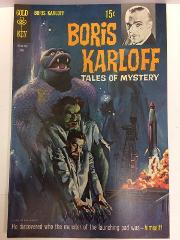 Boris Karloff Tales of Mystery #26 Comic Book Whitman 1969