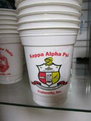 Kappa Alpha Psi Fraternity Plastic Cups Divine 9 Drink Cups W...