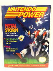Nintendo Power Magazine Volume 22 Metal Storm 1991