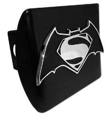 Batman Versus Superman ALL METAL Black Hitch Cover