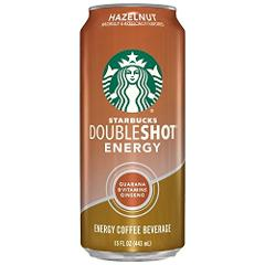 Starbucks Doubleshot Energy Drink, Hazelnut, 15 Ounce Cans, 12...