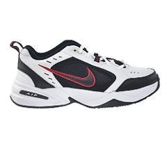 Nike Air Monarch IV Men's Shoes White/Black-Varsity Red 415445...