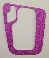 BMW E46 Glitter Pink AUTOMATIC STEPTRONIC SHIFTER PLATE COVER ...