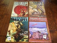 vintage How to draw seascapes, still life,paintings from India...