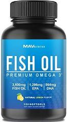 Premium Fish Oil Omega 3 WEIGHT LOSS Immune Support Heart & Br...