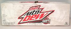 Mountain Dew Code Red Diet Soda 12 Pack Mtn Dew