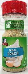 McCormick Garlic Ranch Seasoning 2.87 oz