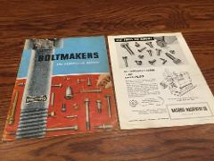 Vintage National Machinery Co. Boltmakers And Progressive Head...
