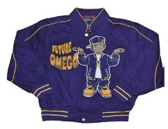 Future Omega Psi Phi LONG SLEEVE JACKET My Dad is and Omega Bo...