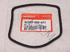 NEW OEM HONDA MOTORCYCLE TAILLIGHT TAIL LIGHT LENS GASKET 5049...