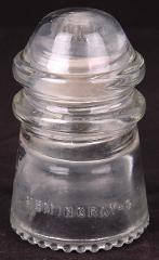 Clear Insulator-Hemingray 9-Telegraph-Telephone-USA-Antique-Ma...
