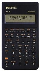 HP 10B Financial Calculator with Soft Case and Owners Manual