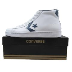 Converse PL 76 Mid Leather Top Mens Midnight Blue White 157427...