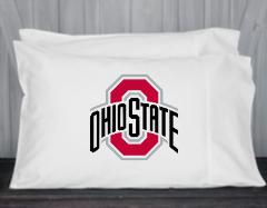 Ohio State, Buckeyes, Pillowcase, Standard, Queen Size, Microf...