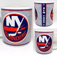 Custom Made New York Islanders 11oz Coffee Mug Personalized wi...