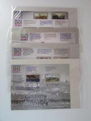 The Civil War 1861 1862 1863 1864 1865 USPS USA Forever Stamps...