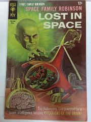Space Family Robinson Lost in Space #27 Comic Book Gold Key 1968