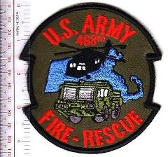 Hot Shot Fire Crew US Army Massachusetts 468th Engineering Det...