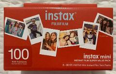 Fujifilm Instax Mini: 100 Exposures - Instant Film Super Value...