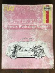 Haynes Fiat 850 Owners Worshop Manual 1964 - 1971 All Models B...